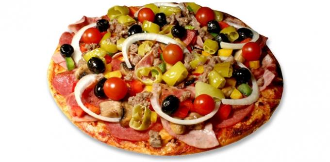 Pizzas Spéciales
