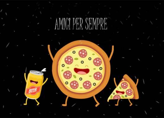 Pizza e birra:  la coppia perfetta e i nostri consigli su come abbinarle!