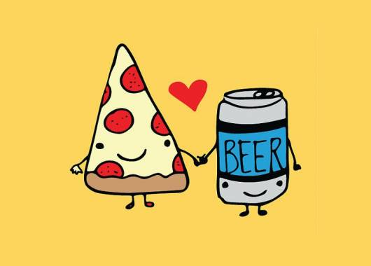 Pizza e birra: la coppia perfetta che piace anche al dietologo!