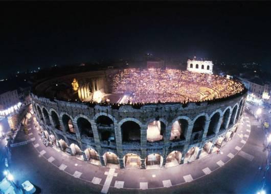 Il ristorante per la tua estate di musica e spettacoli 2016 all'Arena di Verona