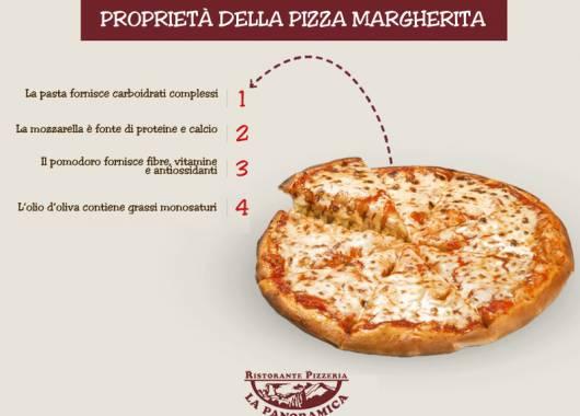 Le proprietà della pizza margherita nella nostra pizzeria a Colognola ai Colli!