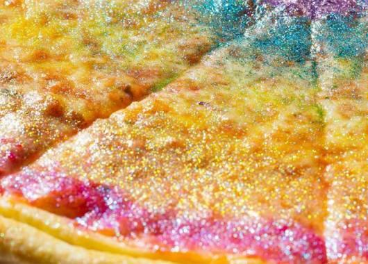 Pizza Glitter, follia americana!