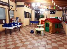 Ristorante con area giochi per bambini il valore aggiunto de La Panoramica