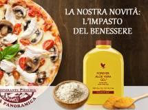 Pizza aloe vera con farina di farro e curcuma biologica: la nostra pizza con l'impasto del benessere