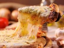 Pizza formaggiosa da Guinness World Record