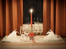 Ristorante per cena romantica di San Valentino