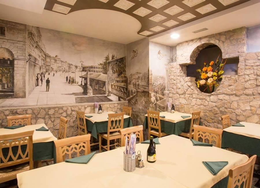 Ristorante pizzeria per coppire a Colognola ai Colli