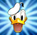 Donald Duck-Pizza